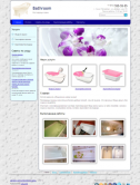 Сайт компании по реставрации ванн